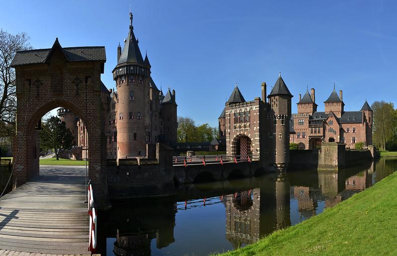 Pays-Bas - De Haar - château