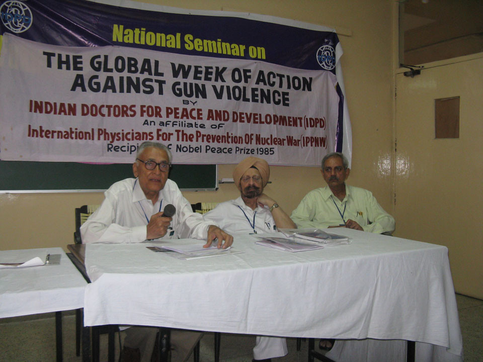 Week of Action Against Gun Violence 2011 - India_IDPD_12june2