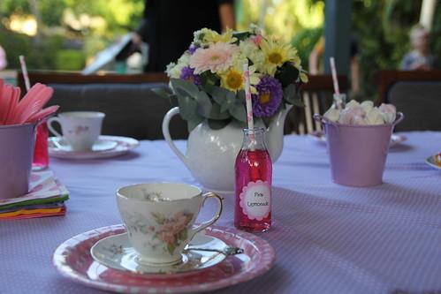 High Tea - Tea Pot Theme