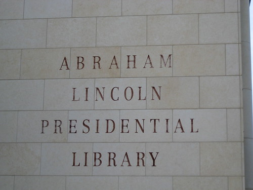 Abrahm Lincoln Presidential Library