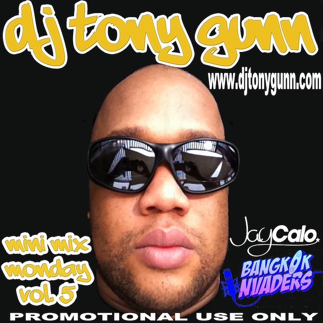 DJ Tony Gunn! After releasing over 19 mixtapes and 50 mini mixes, DJ Tony Gunn continues to be a driving force in the industry. Over the past 19 years he has continued to move crowds on two continents with his selection of Hip Hop, R&B, Reggae, Reggaeton, Pop, and