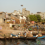 Old Rickshaws and Cargo at Sadarghat - Dhaka, Bangladesh