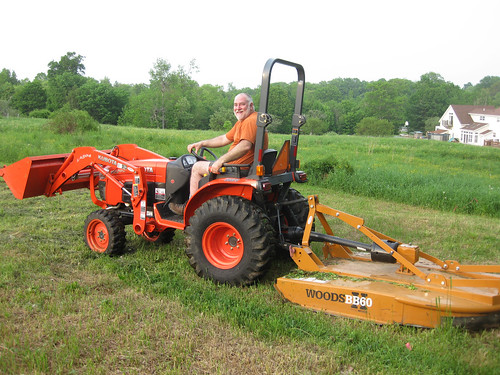 Mike's tractor