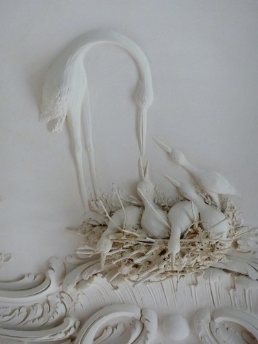 sculpture art nest ceiling stork lithuania basrelief artisticphotos supershot rundelepalace