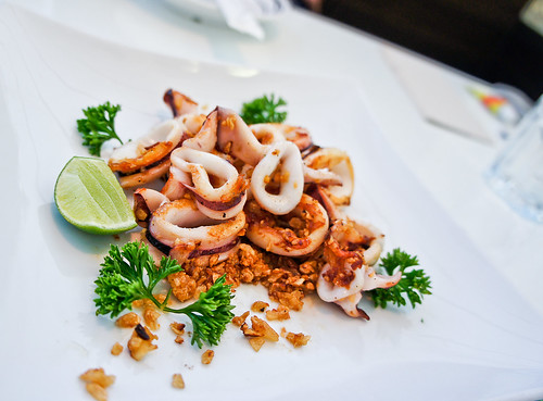 Thai's Garlic Squid