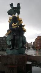 Uppsala statue