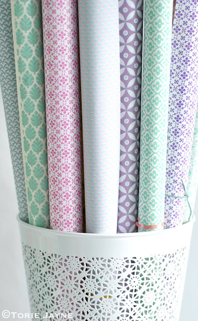 Pretty papers storage