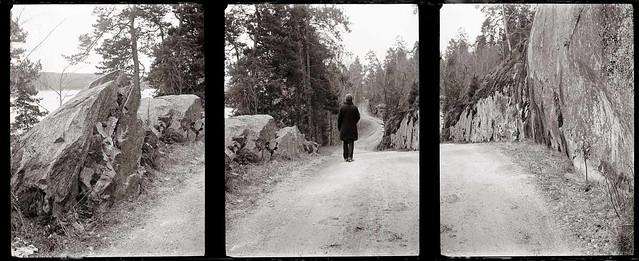 Triptych, Nesodden Easter 2012