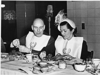 Photograph of Maine State Society Lobster Dinner, 02/21/1951