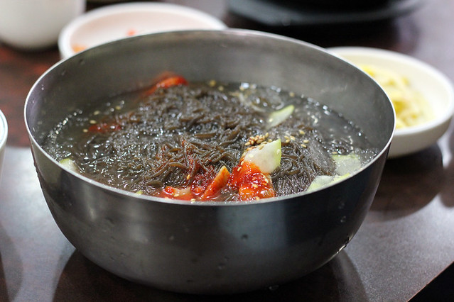 South korean food 29 of the best tasting dishes noodles in ice soup mul naengmyeon forumfinder Choice Image