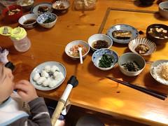 実家の朝御飯(2012/5/5)