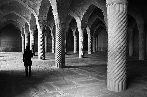 Feeling the Silence at Vakil Mosque