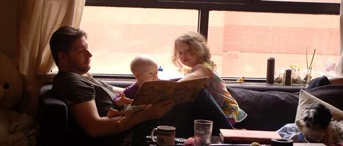reading w daddy