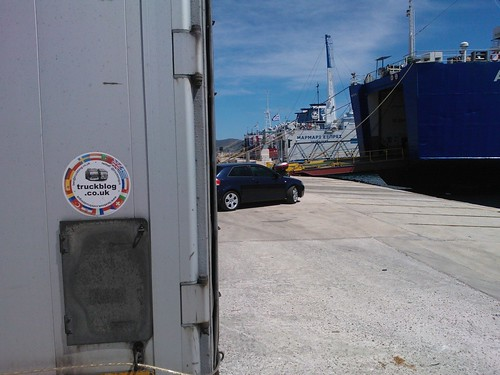 Truckblog on the Move at Lavrio Port!!