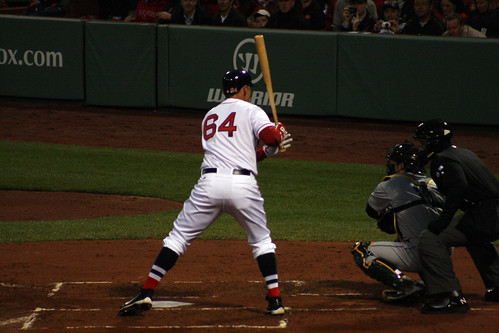 Will Middlebrooks' first at bat