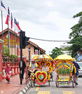 Colourful Trishaws of Melaka