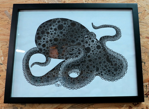 AAN 029 Spotted in the Deep by Kate Graves - ink and acid free paper