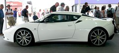 Lotus Evora S white 2011 l
