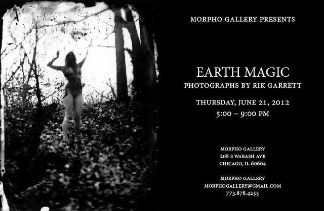 Earth Magic solo show Chicago