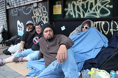 Ave A homeless encampment