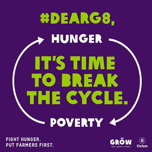 #DearG8, it's time to break the cycle of hunger and poverty.