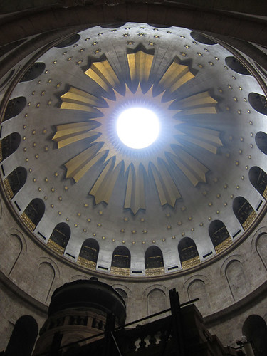 Church of the Holy Sepulchre rotunda dome