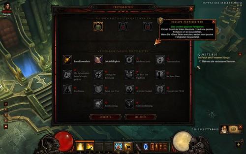 Diablo 3 passive Fähigkeiten Mönch Level 10