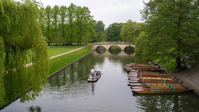 Cambridge, bridge over the River Cam - Flickr CC ed_webster