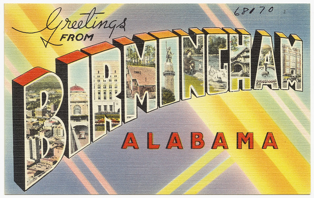 Greetings from Birmingham, Alabama from Flickr via Wylio