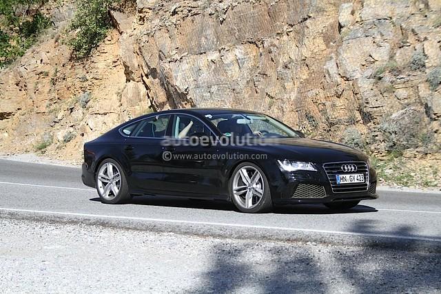 Espías Audi RS7