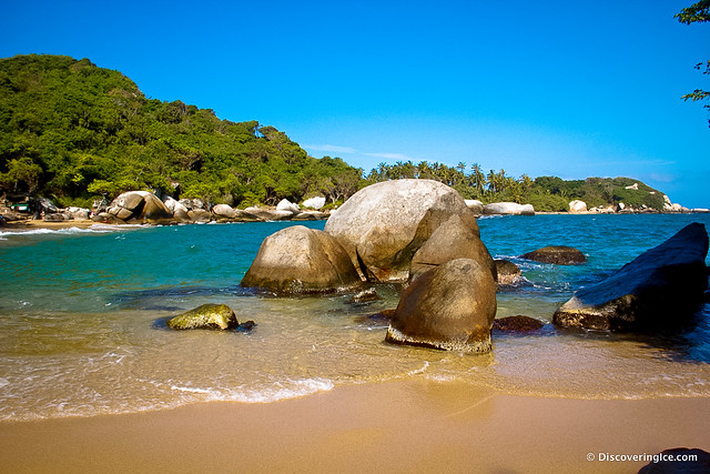 Beautiful beaches of Tayrona National Natural Park