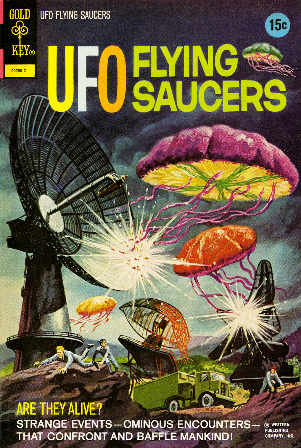 UFO Flying Saucers #3 (Gold Key, 1972)