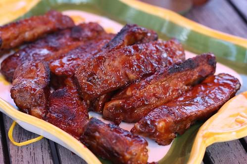 Recette des ribs la sauce bbq ma p 39 tite cuisine for Marinade pour viande barbecue