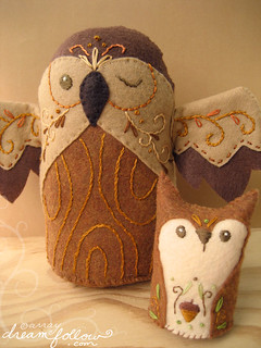 owl and squirrel