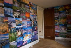 232 Silver Lake Rd. - upstairs bedroom at end of hall, colorfully decorated with calendar photos...nice!