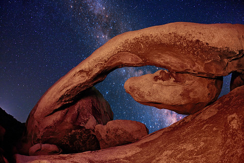 """Rockstar"" - The Milky Way from Joshua Tree National Park"