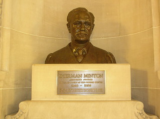 Bust of Sherman Minton (front)