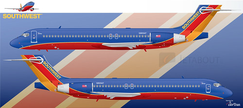 Southwest Airlines Boeing 717-200