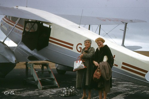 The late E.M.Stocker about to start yet another trip in 1959 by Stocker Images
