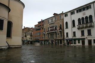 Image of Santa Maria Formosa. venice wet venezia