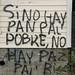 Wise Socio-Economic Graffiti - Chiloe Island, Chile