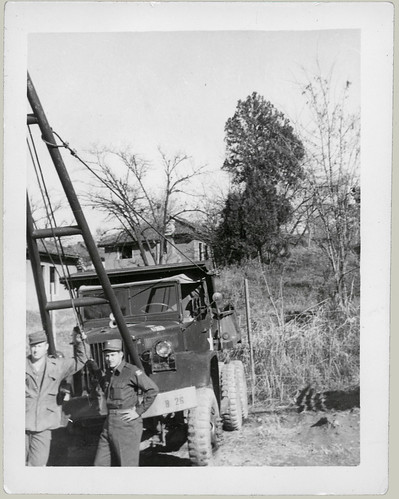 The heavy equipment