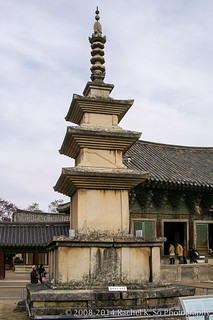 Image of Seokgatap. buddhism korea southkorea 2008 gyeongju bulguksa 韓國 한국 경주 대한민국 republicofkorea 불국사 佛國寺 慶州 大韓民國