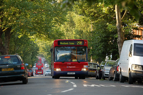 Stagecoach 34385 on route 291