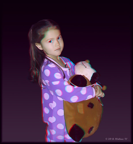 cute girl de effects stereoscopic 3d kid child brian young anaglyph ps pillow indoors stereo stuffedanimal pjs wallace inside milford delaware christmaseve relative pajamas stereoscopy stereographic greatniece brianwallace stereoimage stereopicture