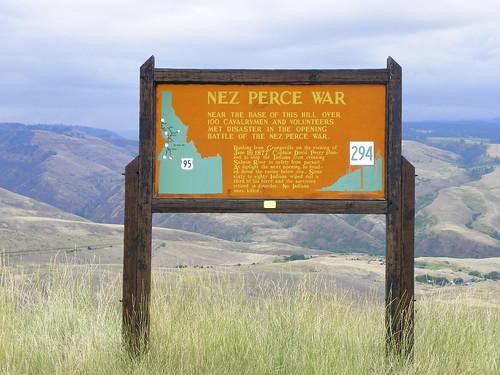 Nez Perce War Historical Marker