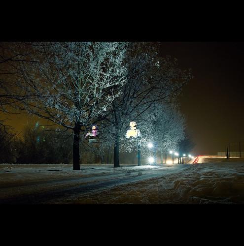 winter portrait snow night sigma 365 gödöllő tél éjszaka éjjel strobist strobizm orbandomonkoshu 2011inphotos