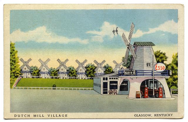 dutch mill village  glasgow  kentucky