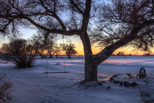 trees winter sunset snow cold ice milo idaho hdr idahofalls ririe canonef24105mm14lisusm 5dmarkii