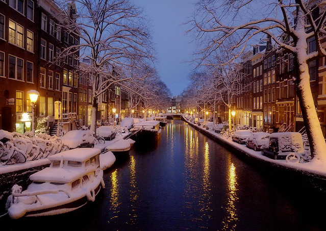 Winter Holiday Season in Amsterdam